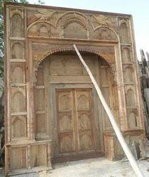 Heritage Style Carved Door