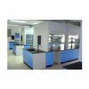 Blue & White Lab Furniture