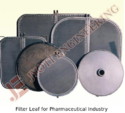 Filter Leaf for Pharmaceutical Industry