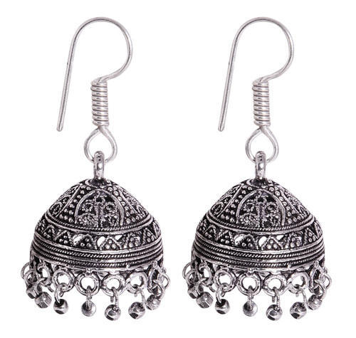1be7d04fb Silver Jhumkas at Best Price in India