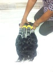 Bulk Virgin Indian Hair