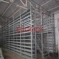 Two Tier Slotted Angle Storage Systems