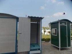 pvc staff toilet