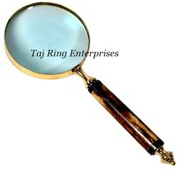 Handle Brass Magnifying