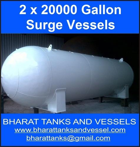 2 x 20000 Gallon Surge Vessels