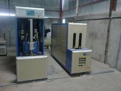semi automatic pet blow molding machine