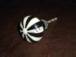 Black & White Cupboard Knobs