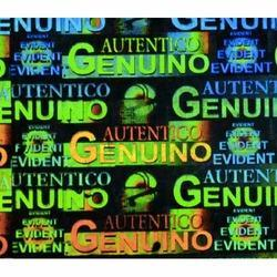 Genuino Autentico Hologram Label