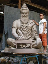 Saint Valmiki Bronze Statue