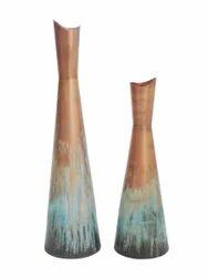 Metal Bottle Vase