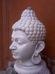 Lord Buddha Head Statue