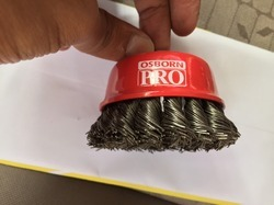 Osborn Hard Knotted Cup Brush
