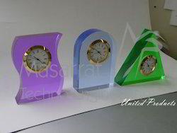 Acrylic Clock Stand