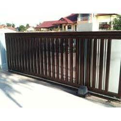 Industrial motorized gates motorized sliding gates for Sliding gate motor price in india