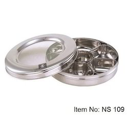 Stainless Steel Dry Fruit Serving Box