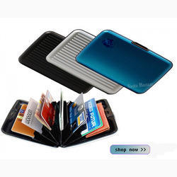 Aluminium Wallet Water Proof
