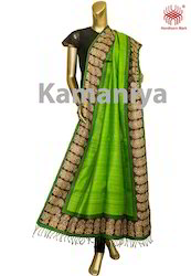 Handloom Kantha Work Dupatta
