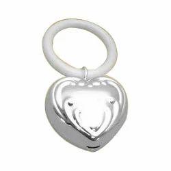 Brass Heart Rattle