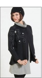ladies designer overcoat