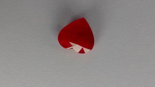 Heart Shape Mozambique Ruby