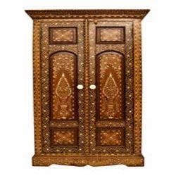 wooden almirah box