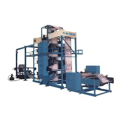 flexographic roll to cut printing machine