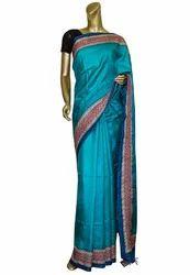 Kantha Stitched Silk Sarees