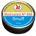 Super Medicated Rust Color Snuff (No. 666)
