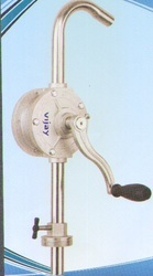 Stainless Steel Rotary Barrel Pump