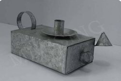 Candle Holder Box with Candle Snuffer