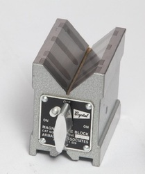 Crystal Carbide Magnetic V Block