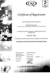 Bhartia Pulveriser ISO Certificate