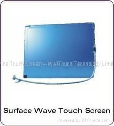 Anti-Vandalism SAW Touch Screen