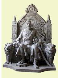 FRP Sivaji Sculpture
