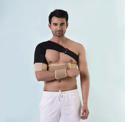 Elastic Shoulder Immobilizer Skin/Black