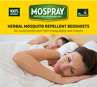 Herbal Mosquito Repellent Bedsheets