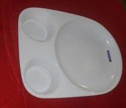 Acrylic Bhature Plate