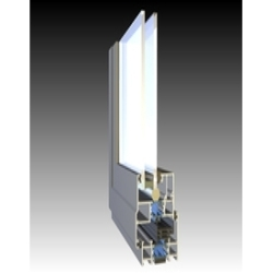 Aluminum Section for Casement Window