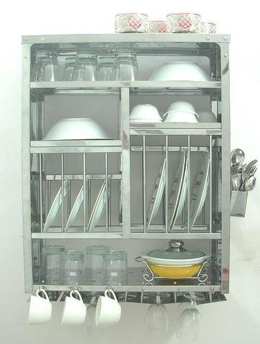 Large Stainless Steel Wall Mounted Dish Rack & Stainless Steel Racks - Small Stainless Steel Wall Mounted Dish Rack ...