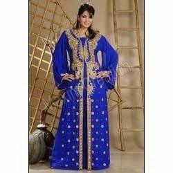 Blue Abaya Dress