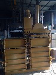 Double Box Pressing Unit Rotatable Baler