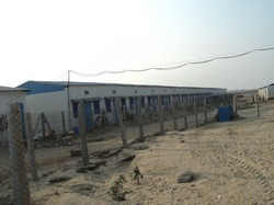 prefab workmen shed
