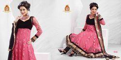 Designer Embroidery Handwork Anarkali Suit