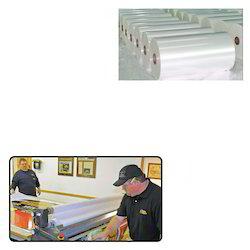 plastic film for paper lamination