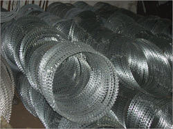 Concertina Coiled Circle Wire