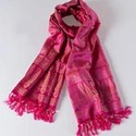 Cashmere Trendy Pink Silk Scarves