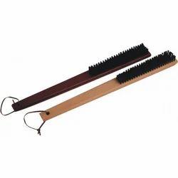 wooden coat brush