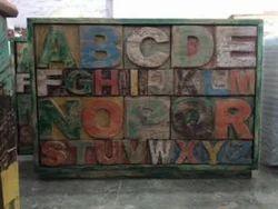 Alphabetical Sideboard