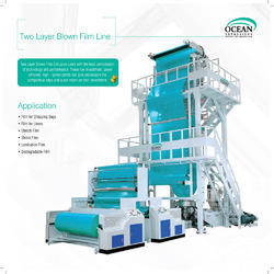 high speed film blowing extrusion plant