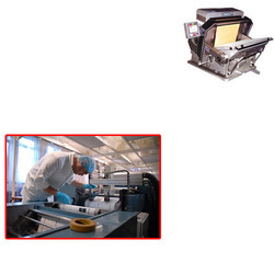 leaf and foil printing machine for printing industry